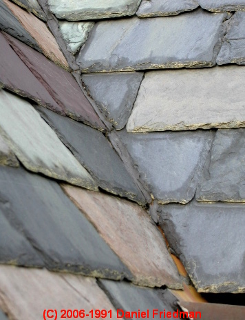 Photographs Of Different Types Of Roofing Slate: Colors, Patterns, Quarry  Sources, Indications Of Wear, Installation Patterns