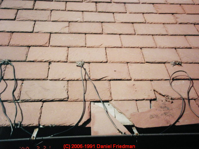 How To Repair Slate Roofs Individual Slate Replacement