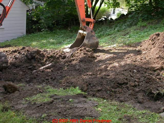 Sewer Or Septic Line Replacement Or Installation Backfill