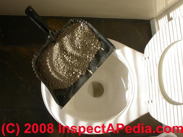 Flushing Cat Litter Septic Tank