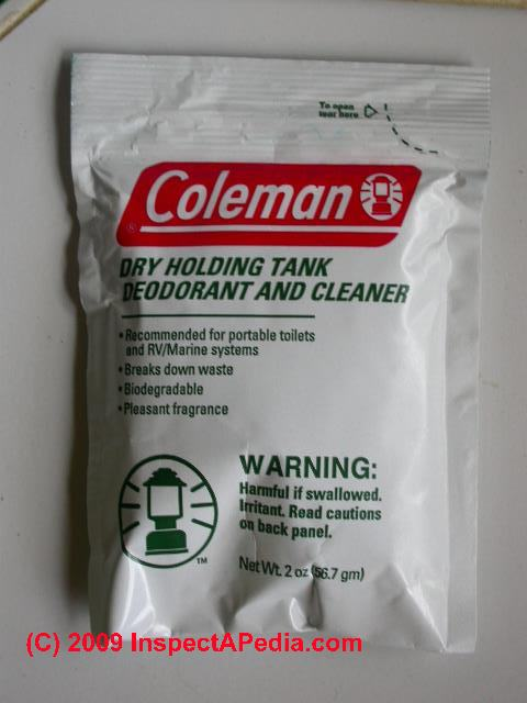 Portable Toilet Disinfectant By Coleman (C) Daniel Friedman ...