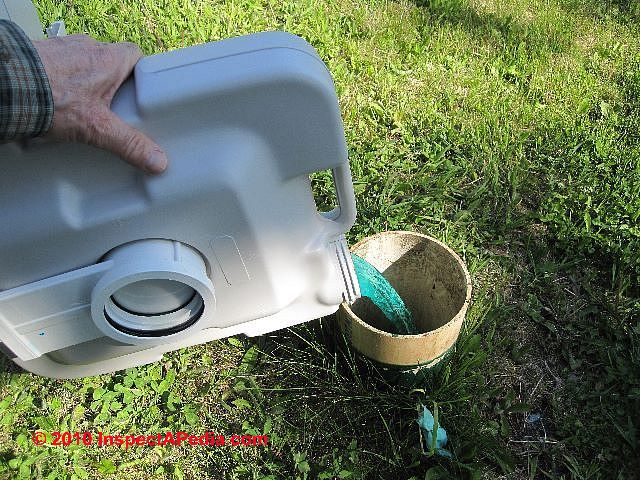 Suggestions For Emptying Rv Holding Tanks Or Porta Pottys