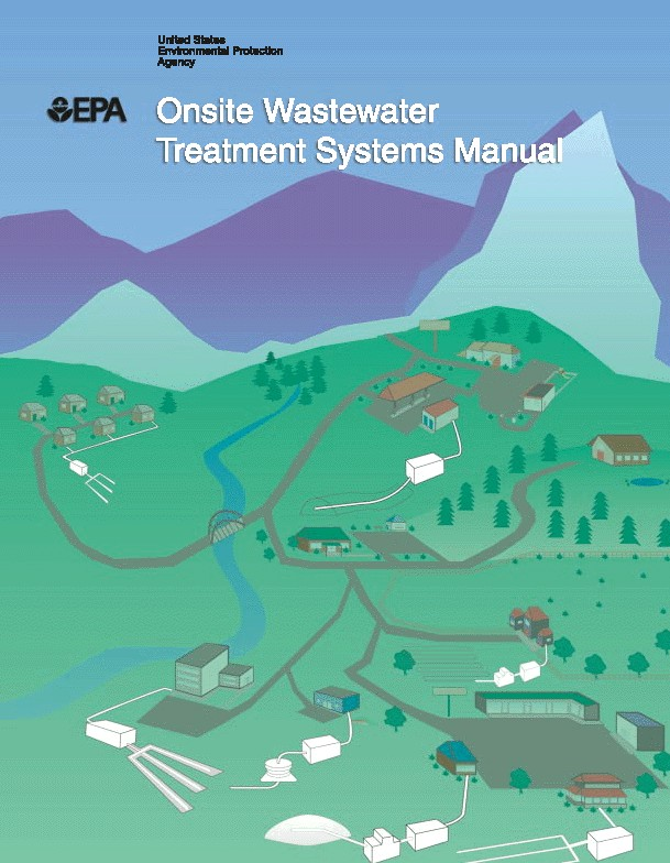 Septic Design Manual Online Version Of Us Epa Wastewater