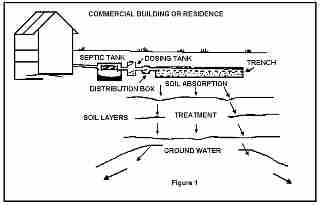 Alternating bed septic systems with parallel or for Gravity septic