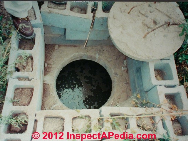 how to build a concrete block septic tank