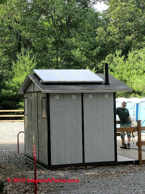 Solar Powered Outhouse Vent Poughkeepsie Ny 169 D Friedman