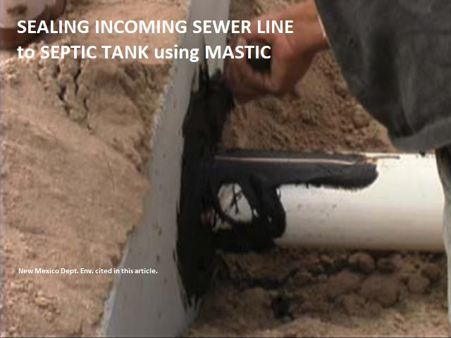 Septic Tank Inlet and Outlet Tees or Baffles, Septic