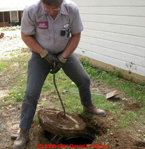 Concrete septic tank condition how to inspect concrete for How big a septic tank do i need
