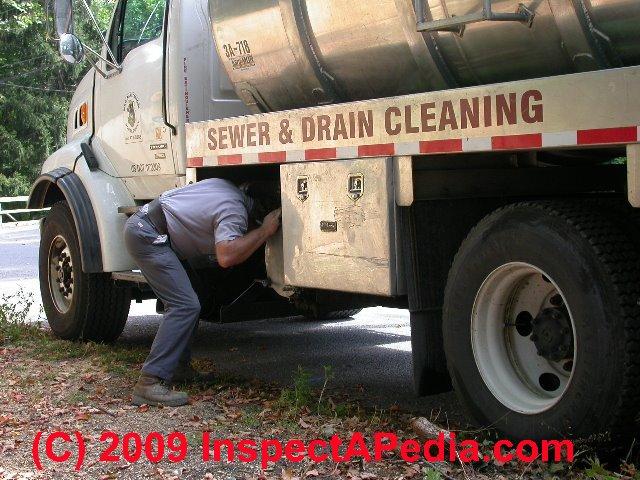 Septic Pumper Truck Operating Procedures: Septic Tank