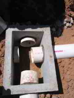 Septic System D Box Piping Install Piping To Amp From The