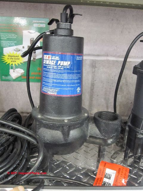 Avoid Damage to Sewage Pumps, Septic Pumps, and Grinder Pumps
