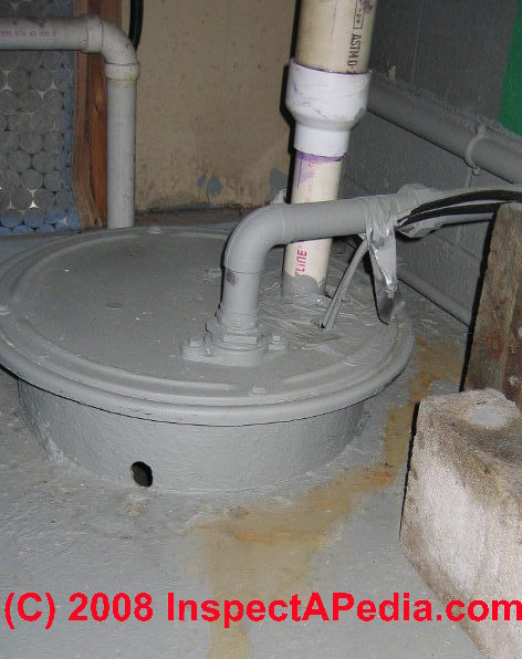 Are Modifications To The Septic Pump System Visible ? What Do They Mean?