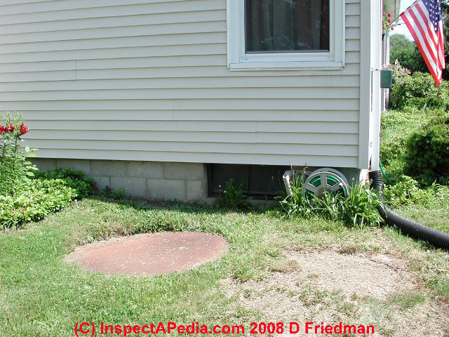 Larger Image Unsafe Septic Tank Cover Discovered By Simple Exploration We Roped This Area