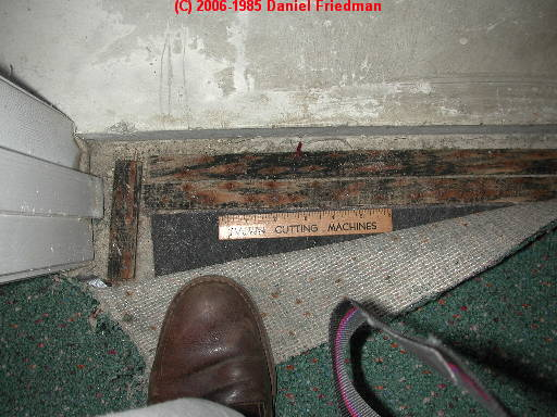 Photograph: Mold Under Carpeting On Tack Strips Indicate History Of Water  Entry, Suspect Moldy Wet Moldy Carpet Contamination Response