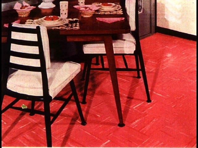 Armstrong Floor Tiles Sheet Identification Photos 1951 1959