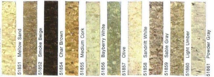Photo Guide To Vinyl Asbestos Floor Tiles