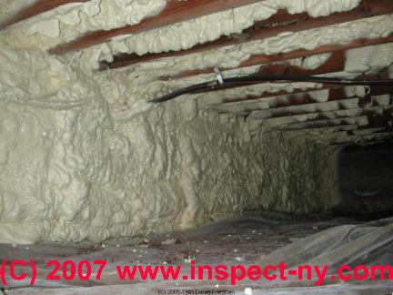 Icynene Urethane And Polyisocyanurate Foam Building