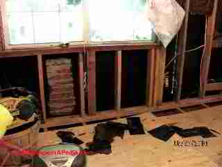 Insulating board in Tennesse flooded home (C) Daniel Friedman