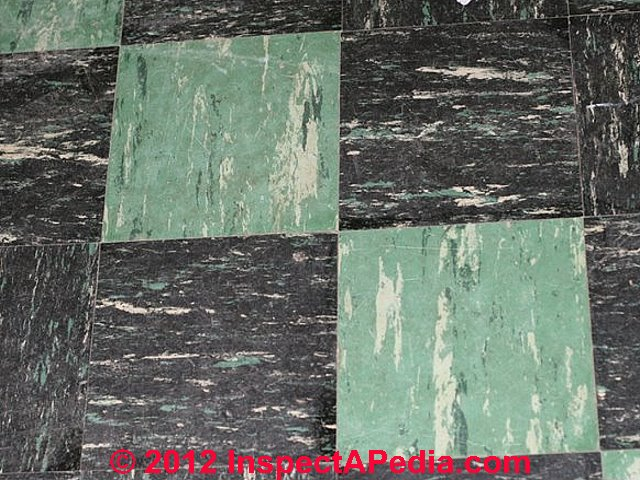 1960 39 s floor tiles that may contain asbestos. Black Bedroom Furniture Sets. Home Design Ideas