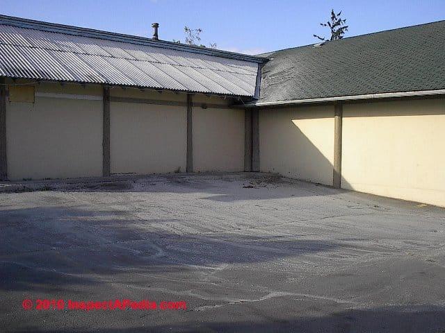 Power Washing An Asbestos Cement Roof Raises Environmental
