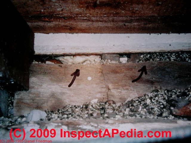 Vermiculite insulation identification for Blown in insulation vs batts