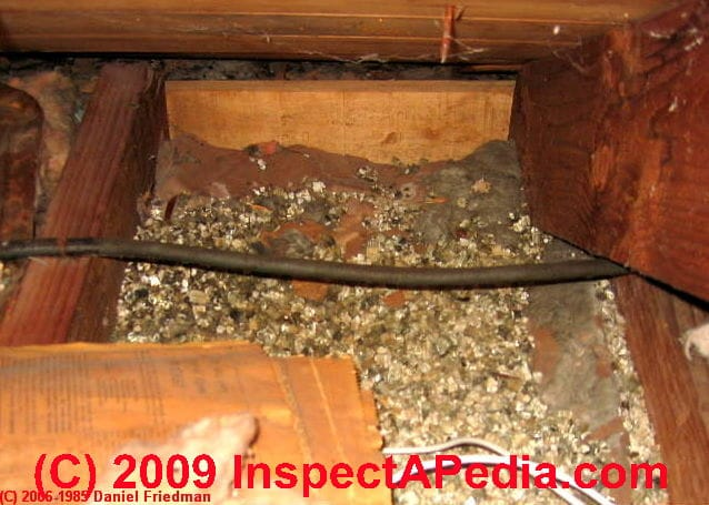 Vermiculite Insulation Identification