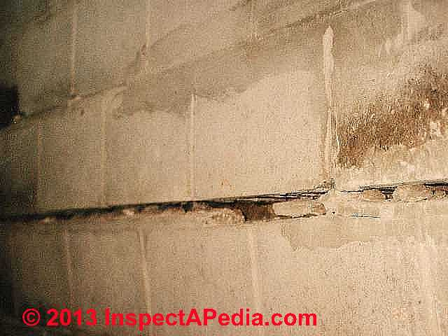 Types Of Cracks Amp Damage In Block Foundation Walls