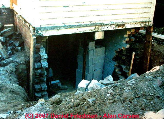 Brick Foundation Amp Brick Wall Defects Amp Failures