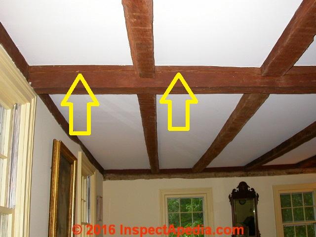 Evaluate Cracks & Splits in Wood Beams or Posts or in Log Homes
