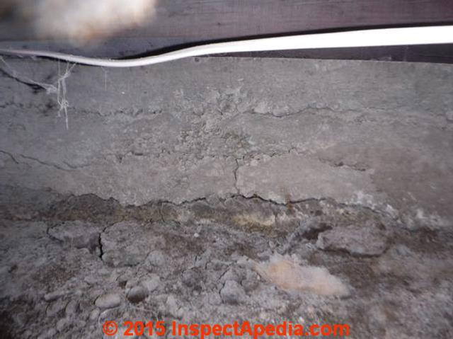 Foundation cracking foundation bowing foundation for Pouring concrete in the cold