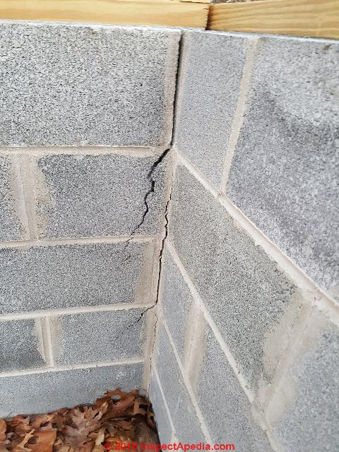 Vertical Cracks In Concrete Block Walls