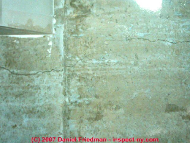 Cold pour joints in concrete foundations floors for Poured concrete foundation