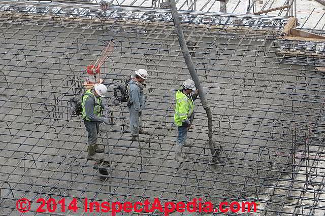 Concrete Odors, Smells, Dust: exposure hazards, sources, remedies