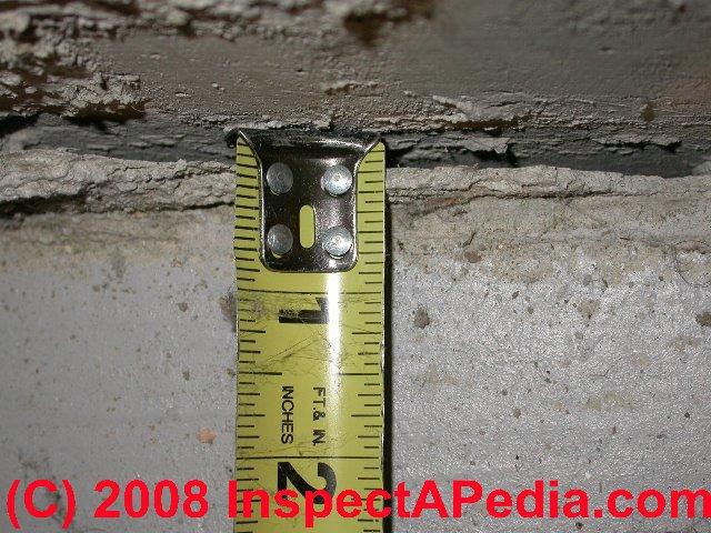 Concrete floor crack evaluation guide shrinkage gap for Best temperature to pour concrete foundation