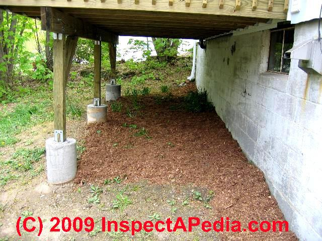 How to Prepare Concrete Deck Piers & Footings Construction