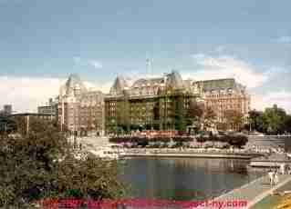 Photograph of the Empress Hotel, Victoria Island, BC