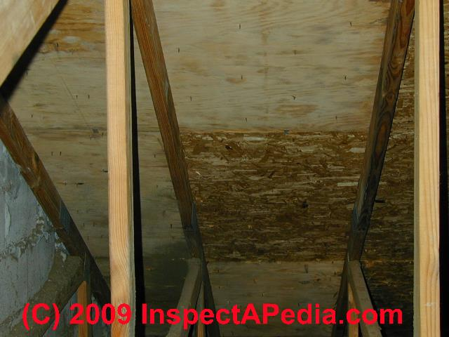Framing sheathing materials a photo guide to types for Roof sheathing material options