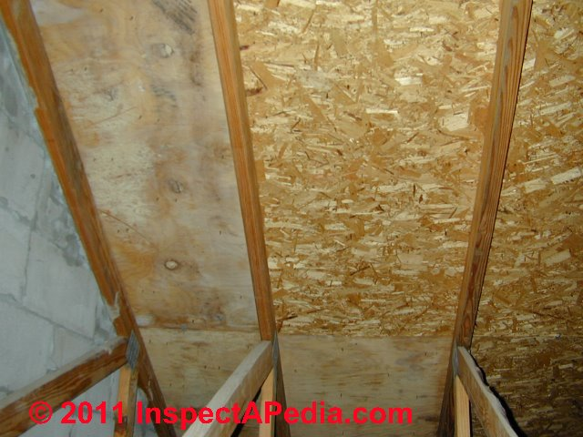 Photograph of osb and frt plywood daniel friedman for Green board exterior sheathing