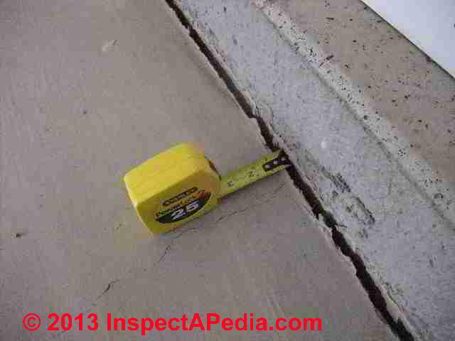 Concrete Shrinkage Gaps Identify U0026 Evaluate Shrinkage Cracks In Concrete  Floors Along Foundation Walls