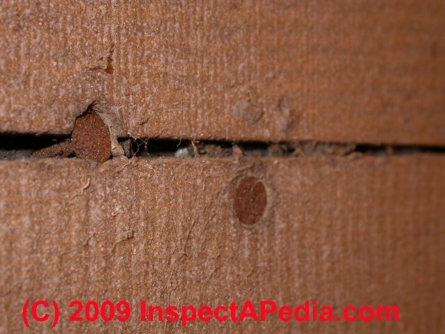 Asphalt Impregnated Fiberboard Sheathing Flintkote Vs