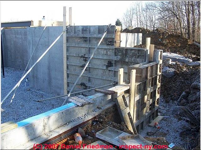 House foundation construction methods