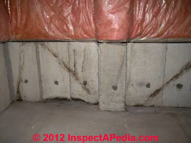 cold pour joints in concrete foundations floors On poured concrete foundation cracks