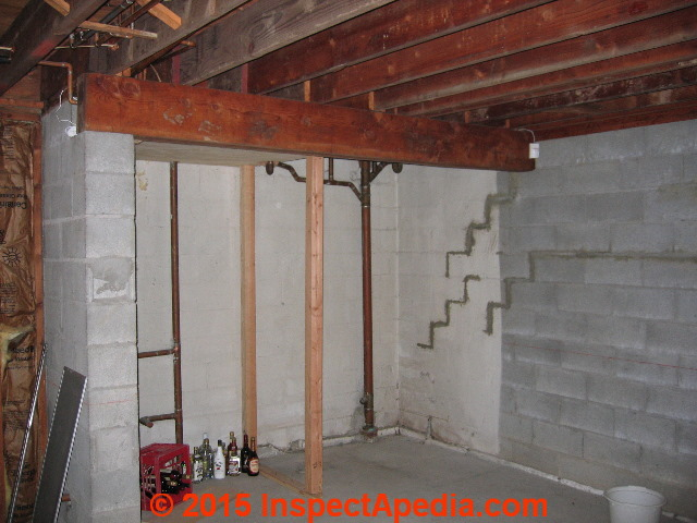 Luxury Basement Wall Bowing Inward