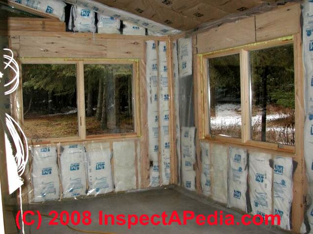 Log Home Insulation Insulating Value R Value Amp Heating