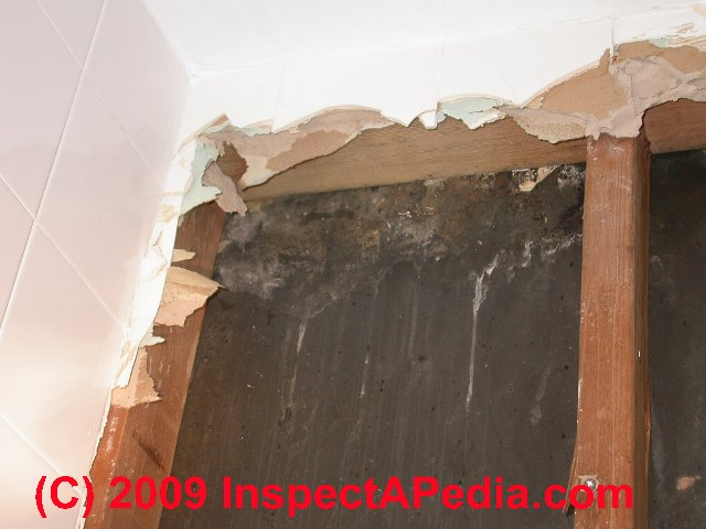 Gypsum panels water resistant on building exterior walls for Is there asbestos in old drywall