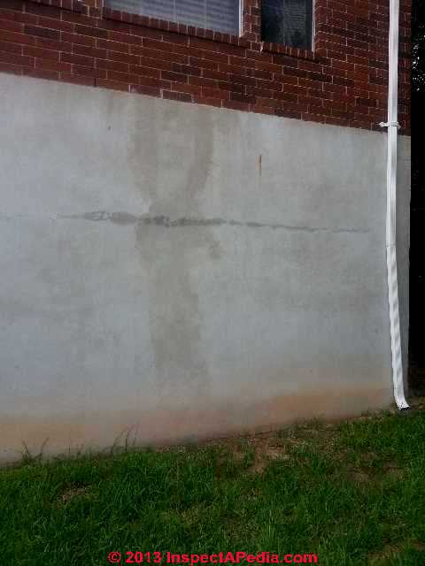 Download free software horizontal crack foundation wall for Poured concrete foundation cracks