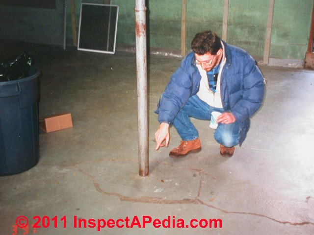Structural Columns Amp Piers Inspection For Defects