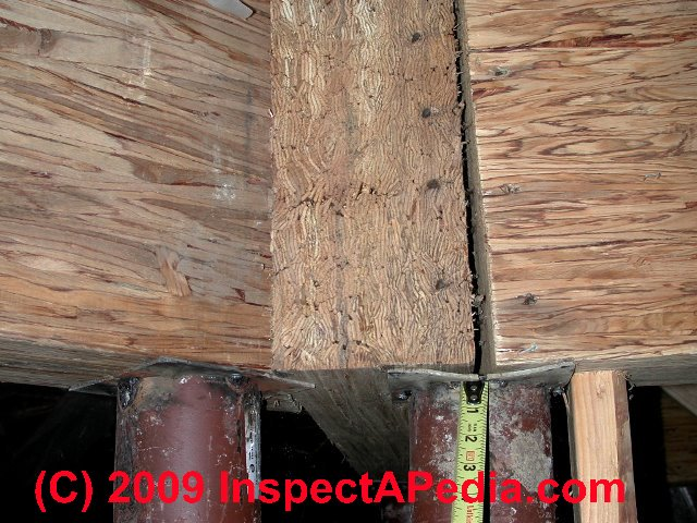 Types Of Wood Beams ~ Framing sheathing materials a photo guide to types