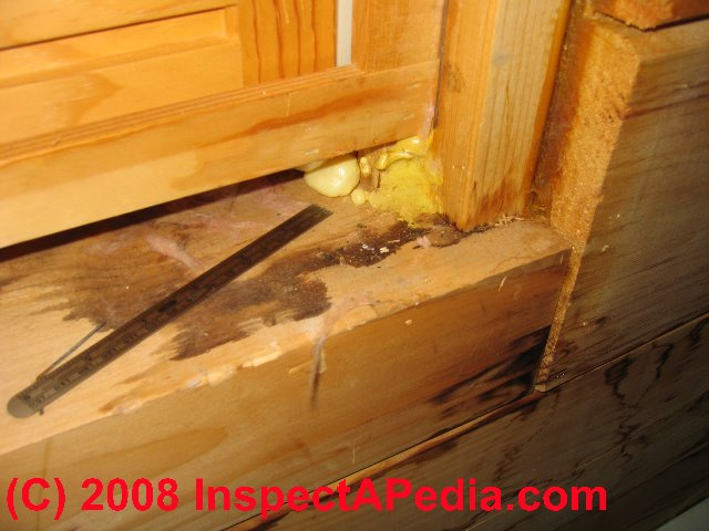 Log Home Leak Diagnosis & Repair Guide - how to find and fix air ...
