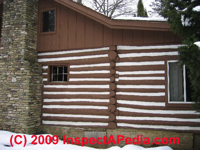 Log home sealants chinking caulks coatings for log homes for Chinking log cabin